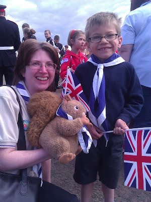 St Columba's Squirrels celebrate Queen's Diamond Jubilee in Ballymena