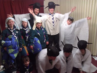 Scouts, Explorers and Leaders participate in Nativity celebrations