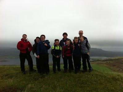 St. Columba's Scouts Hiking